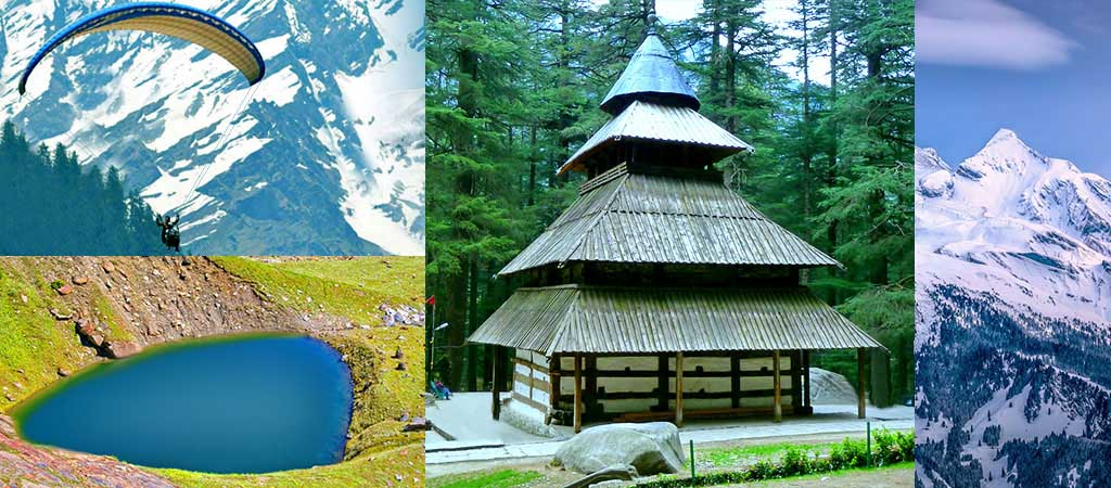 Places of attractions in Manali