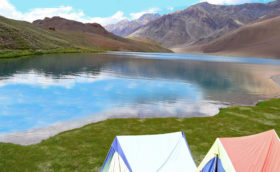 Camps at Chandrataal